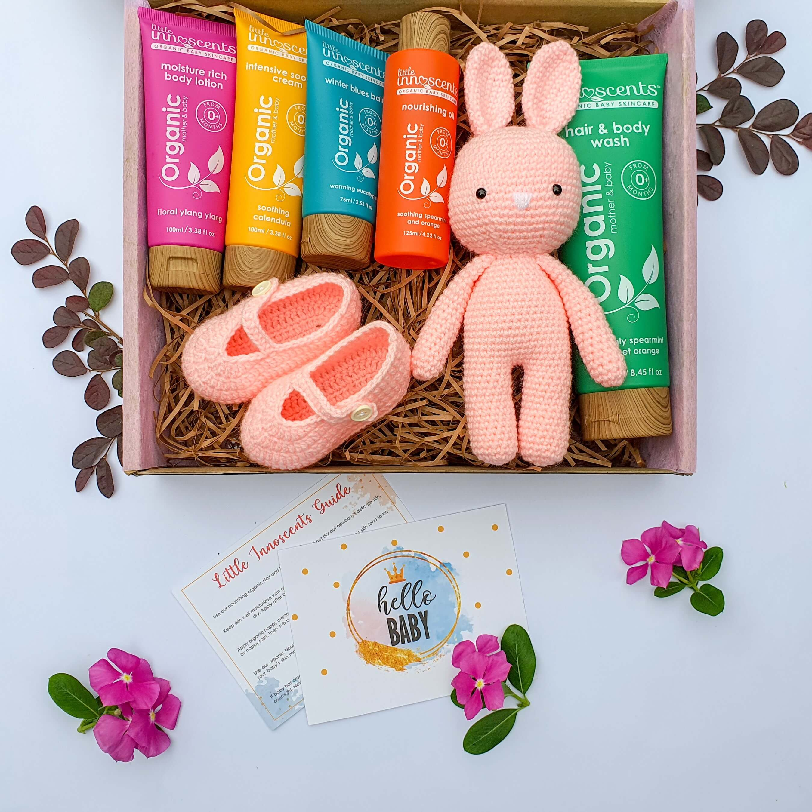 little innoscents organic certified baby products gift boxes category